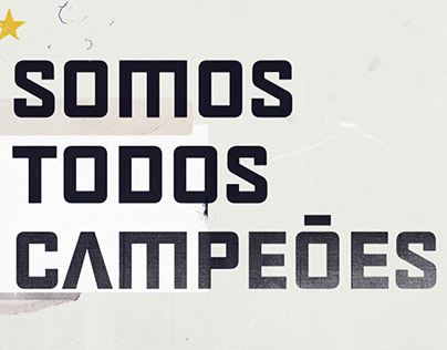 Tipografia Exclusiva SporTV Sou Na Copa