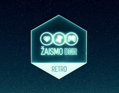 GamenOn/Žaismo DNR RETRO motion graphics
