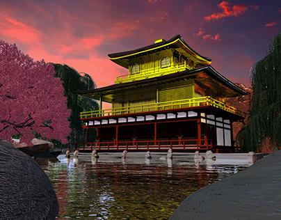KinkaKuji ( The Golden Pavilion).