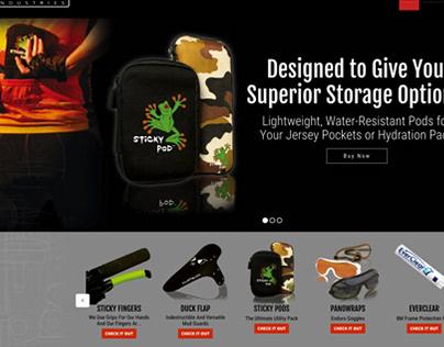 Miles Wide Industries Web Development & Graphic Design
