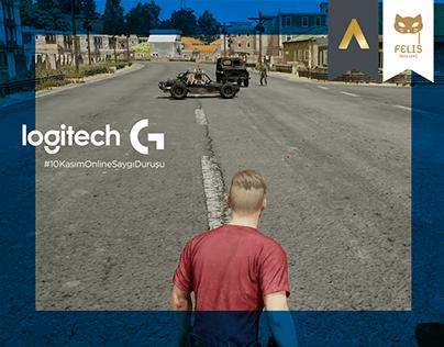 Logitech   10 Kasım #OnlineSaygıDuruşu   Activation