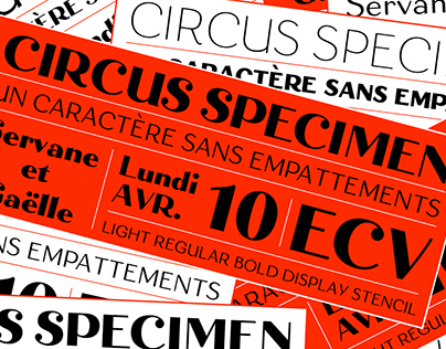 Circus Font Family