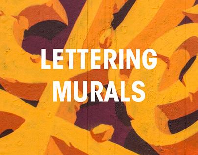 Lettering Murals