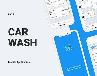 CarWash Mobile App