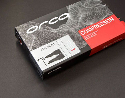 Orca Compression Range Packaging Design