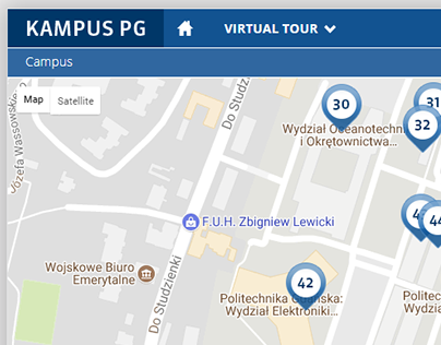 Gdańsk University of Technology Campus website