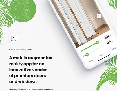 ARARI mobile augmented reality app