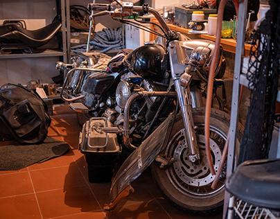 George's garage