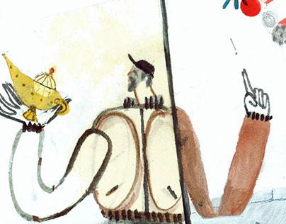 Alladin's Magic Lamp // illustrations + storyboard