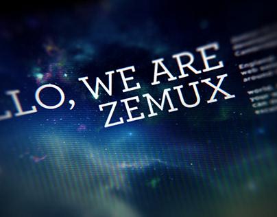 Zemux - Brand Development and Website