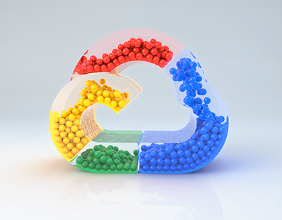 Google Cloud Logo animation