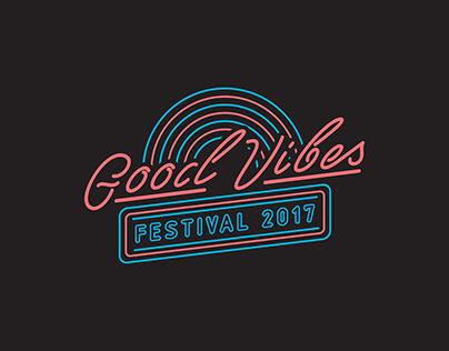 Good Vibes Festival 2017 Merchandise