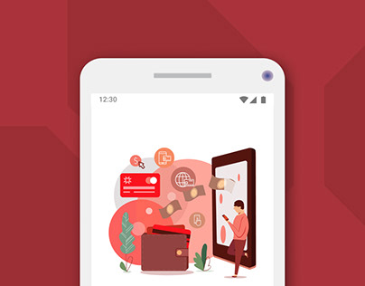 Online banking Android App UX/UI