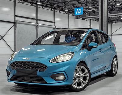 Ford Fiesta 2018   CGI