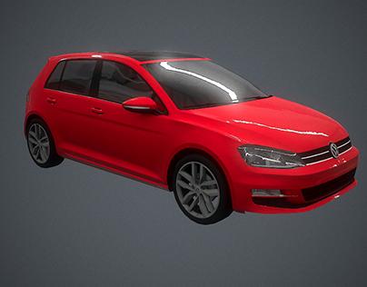 VW Low Poly models
