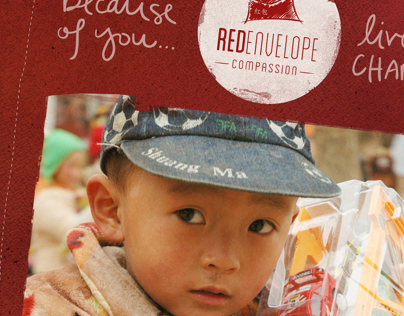 Red Envelope Compassion Branding & Website