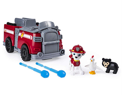 Paw Patrol - Marshall's Ride 'N' Rescue