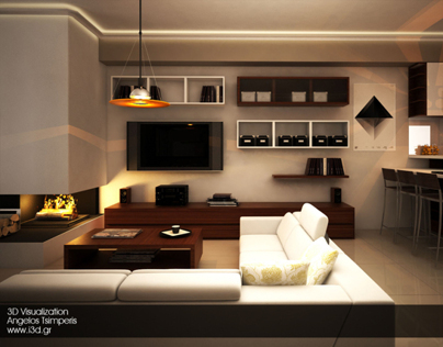 3D Visualization of an apartment proposal
