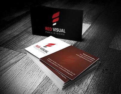 Cartão de visitas - Red Visual