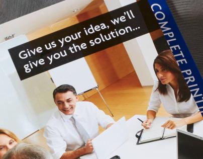 DVL Printing and Graphics Brochure