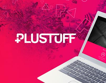 Plustuff | Brand identity