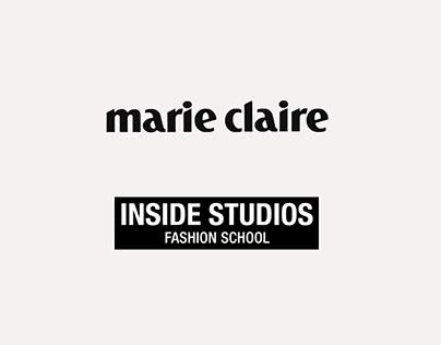 Producción de fotos para Marie Claire