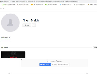 Niyah Smith Deezer