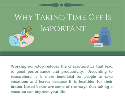 Why Taking Time Off Is Important| Rick Simon Chicago