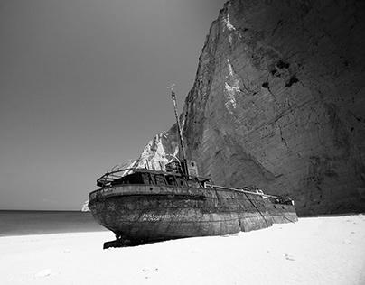 Panagiotis Shipwreck Zakynthos, Greece