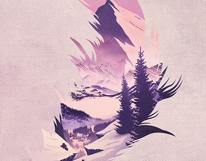 Quote the Raven Misty Mountains Album Art