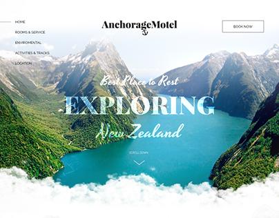 AnchorageMotel - Landing Page
