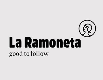 Identity and webdesign for La Ramoneta