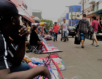 Imigrante haitiano