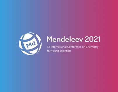 "Рестайлинг логотипа конференции ""Mendeleev 2021"""