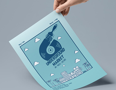 Underground Market Flyer
