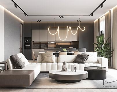 "Apartments ""Alatau Hills"" in Alamty"