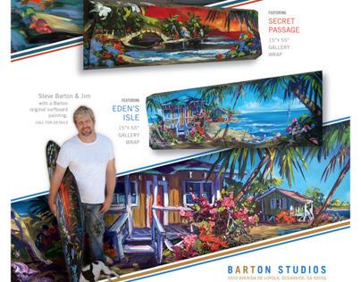 Barton Collection, Artist Steve Barton