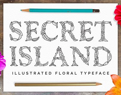 Botanical Illustrated Typeface