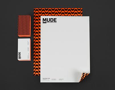 MUDE — Rebrand