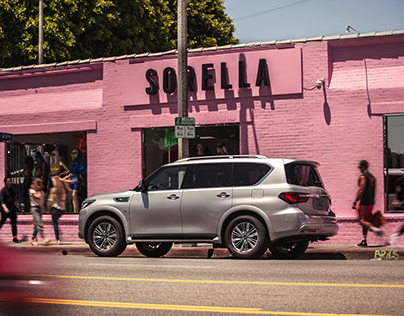 Infiniti QX80 Los Angeles