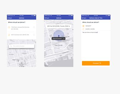 Delivery App UI Challenge