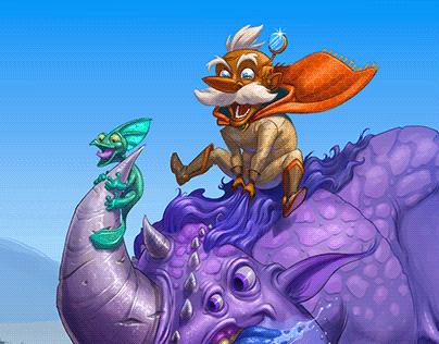 Rimo's Rhinoculus Ride