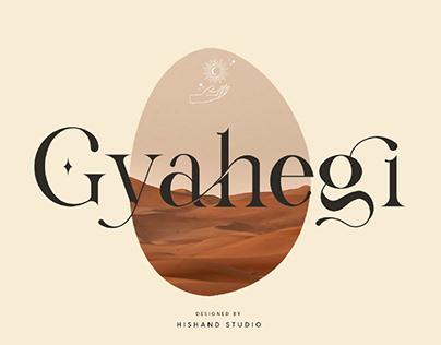 FREE | Gyahegi Elegant Modern Serif Font