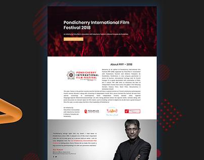 Film Festival Website Design & Development