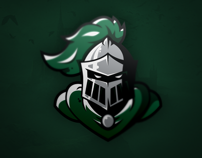 Knight Logo timelapse (free artwork download)