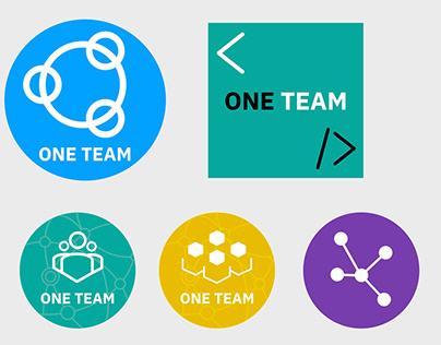 Logos for IBM One Team