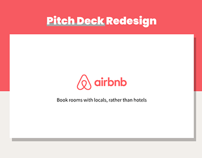 AirBnB Pitch Deck | Redesign