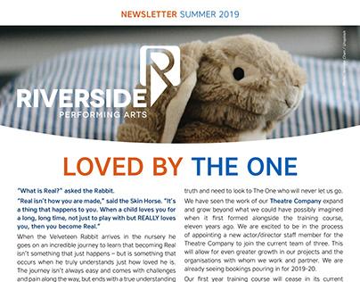 Riverside Performing Arts: design for print