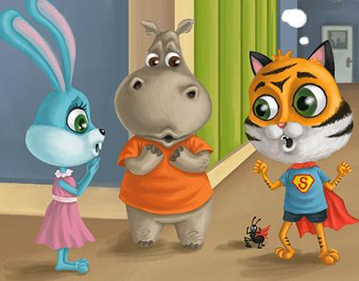 Jungle Giggles - Children's books project