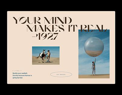 My Mind Made This | Website Design